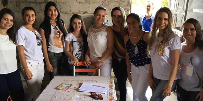 UBS Pedro Leandro Sobrinho em parceria com o NASF  e CTA realizam atividades voltadas às mulheres no Conjuntos dos Sapateiros