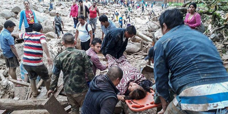 Chuvas deixam mais de 100 mortos no sul da Colômbia