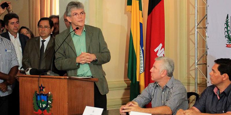 Ricardo diz que Cagepa não será privatizada e não aceitará retaliações do governo Temer