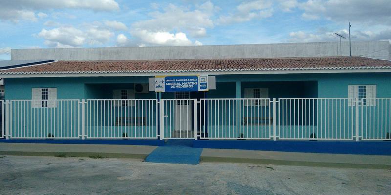 Comunidade diz que reforma da UBS Aderbal Martins foi finalizada, mas ela continua fechada
