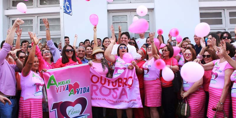 Prefeitura de Patos dá início à Campanha Outubro Rosa
