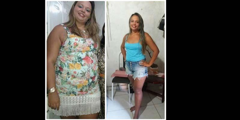 Paraibana muda hábitos alimentares e perde 34 quilos em 20 meses