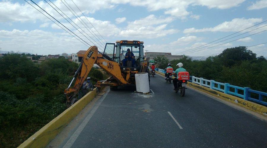 Reconstrução das varandas da Ponte do Figueiredo deve levar mais três meses