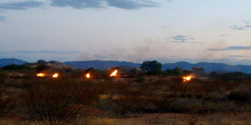 Praticantes de caminhada reclamam de fogo às margens da Alça Sudeste