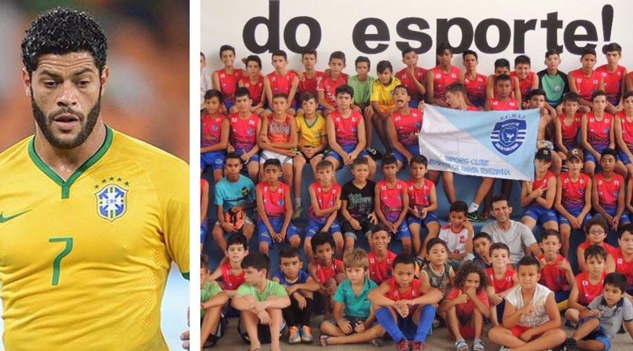 Craque Hulk doa 59 pares de tênis para o projeto social Meninos de Santa Teresinha