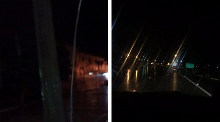 Noite de chuva em São Bentinho