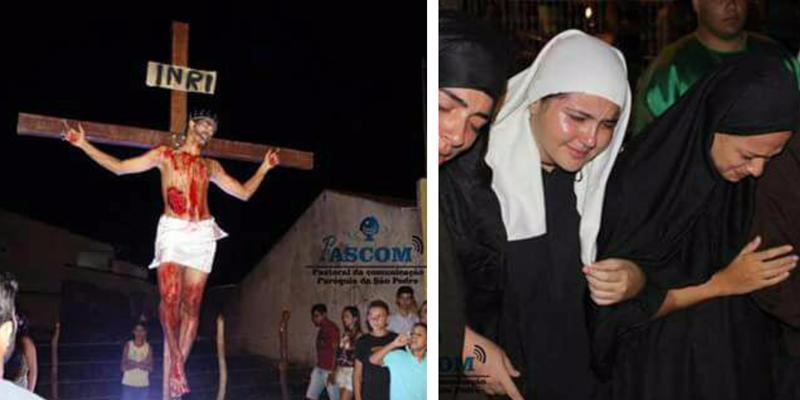 Jovens do Jatobá começam a ensaiar a Paixão de Cristo e buscam empresas que possam colaborar