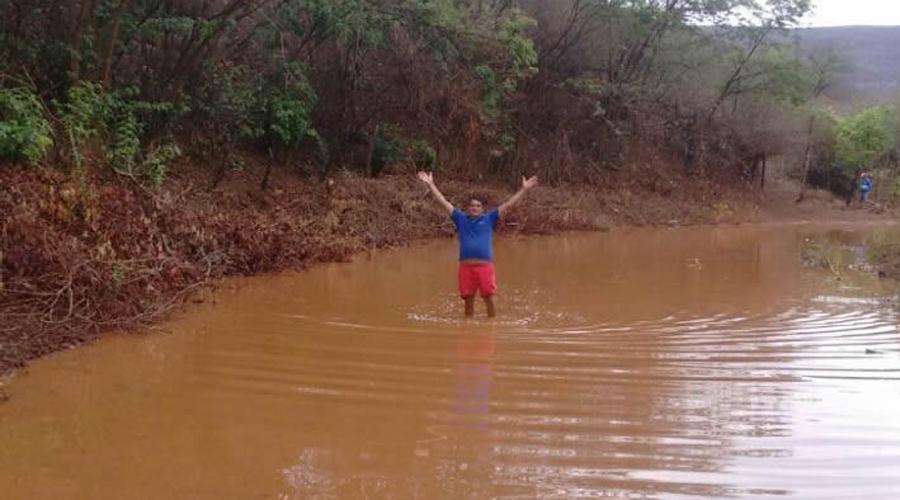 Chove 80 mm em Carrapateira e 55 em Cacimba de Areia. Veja índices de outros municípios