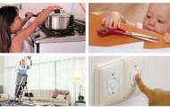 Lar perigoso lar! Agir com segurança no lar promove a saúde da família