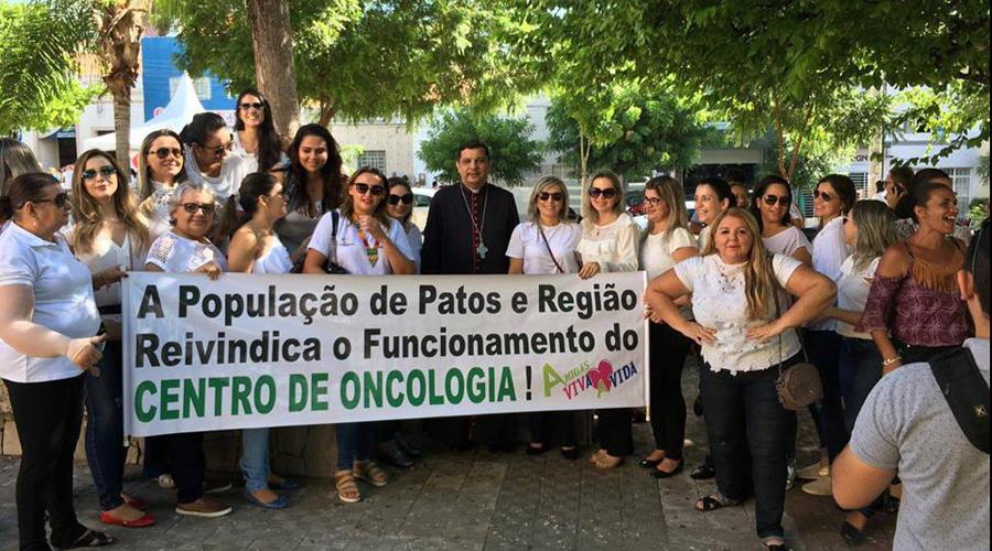 Grupo Amigas Viva a Vida vive a expectativa da inauguração do Centro de Oncologia de Patos