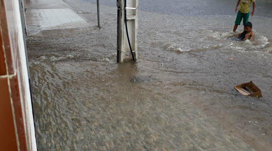 Chove bem em vários municípios do Vale do Piancó. Em Ibiara choveu 63 mm