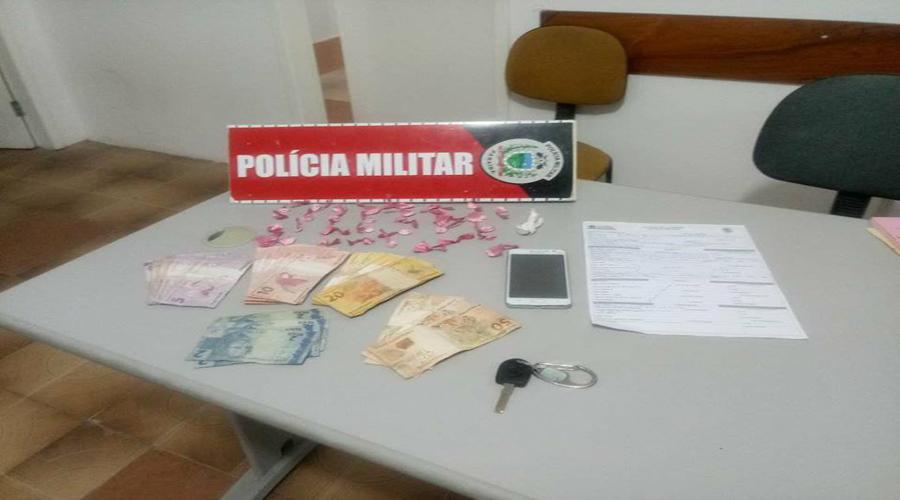 Polícia faz apreensão de drogas na comunidade Dom Bosco (Frango) em Patos