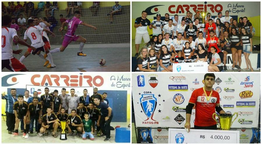 Grande evento de Futsal em Patos premia equipe vencedora com 4 mil reais