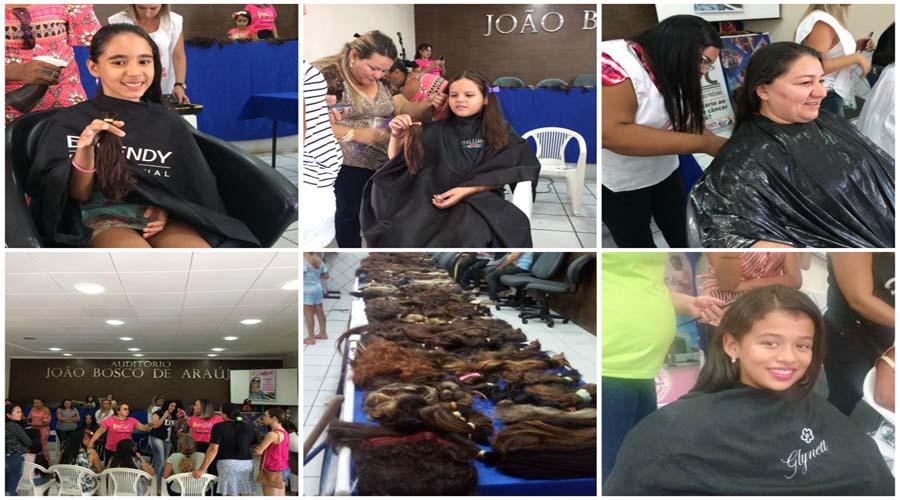 """Amigas Viva a Vida convida população para participar do evento """"Doe cabelos, espalhe alegria"""" em Patos"""