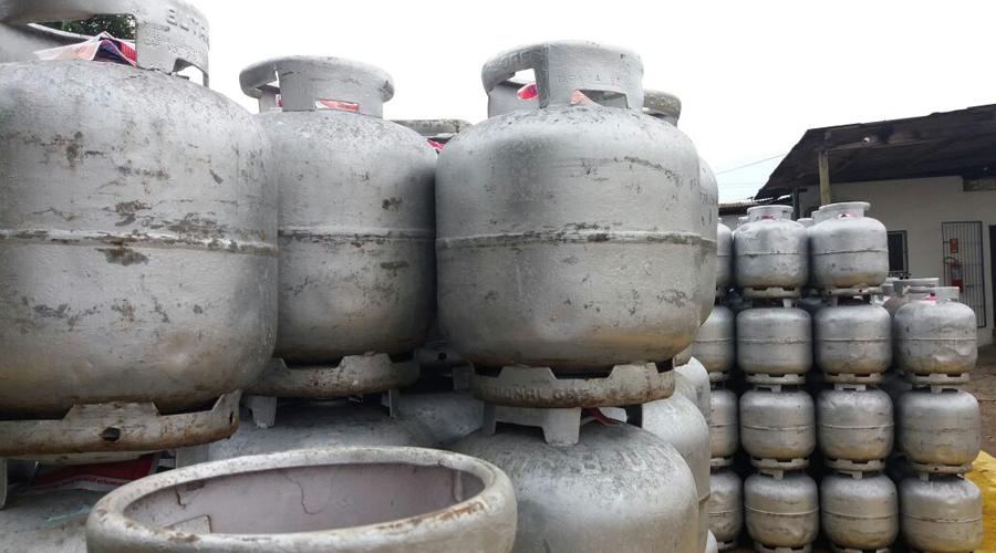 Acaba gás de cozinha nas revendedoras da Paraíba