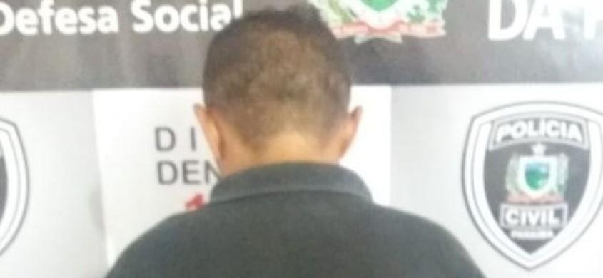 Polícia Civil prende acusado de comercializar drogas no Centro de Patos