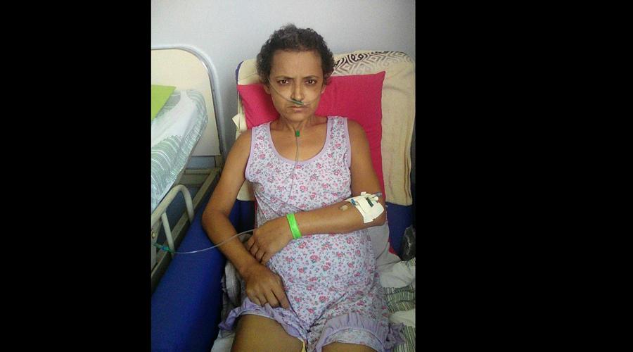 Mulher com grave doença nos rins pede ajuda para realizar o caro tratamento