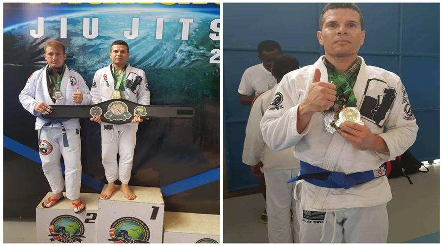 Patoense campeão: Humberto Firmino conquista mais três medalhas de ouro no Jiu-jitsu