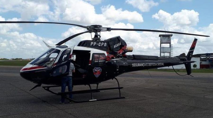 Segundo helicóptero da Segurança Pública chega à Paraíba