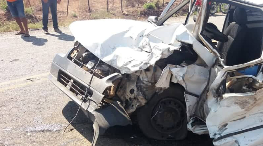 Comerciante de Coremas morre em acidente de carro na manhã de hoje