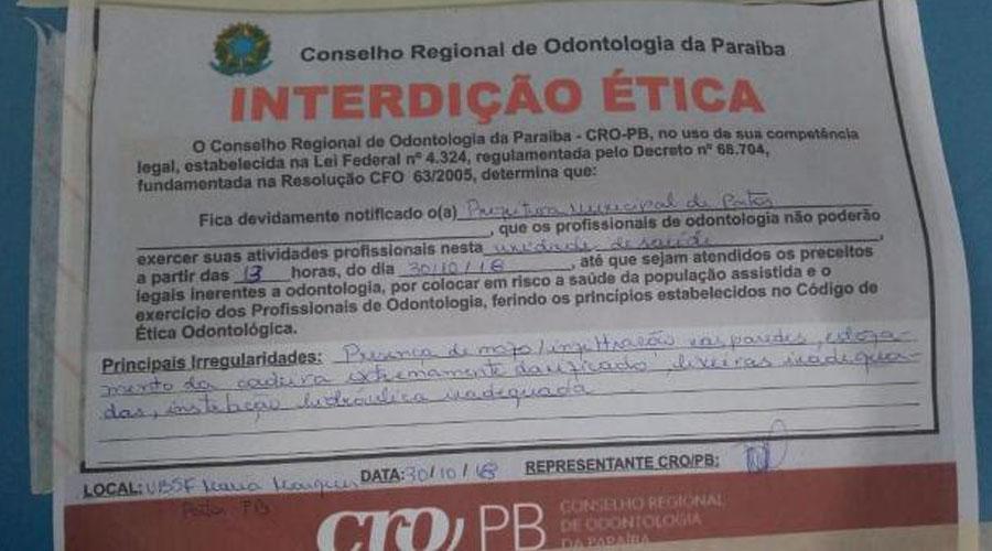 Requerimento solicitando inspeção nas UBS's e equipamentos de saúde do município de Patos é aprovado na Câmara