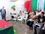 A palestra sobre direito trabalhista e previdenciário chamou muita atenção