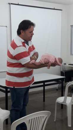Dr. Umberto foi o facilitador do treinamento