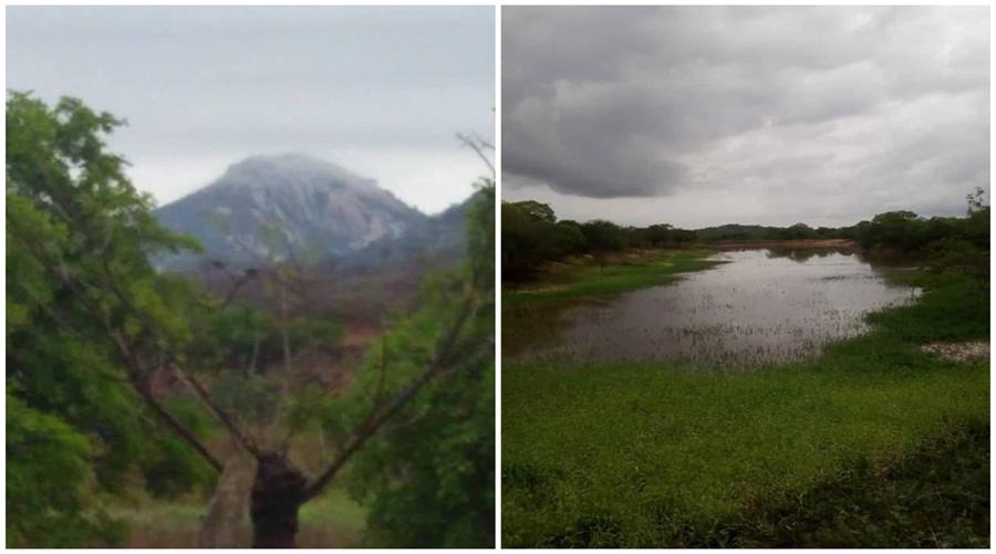 Chove 138 mm na zona rural de Riacho dos Cavalos e pequenos açudes transbordam