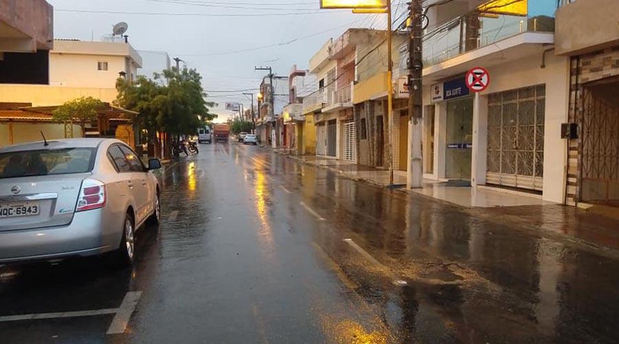 Volta a chover bem no Vale do Piancó