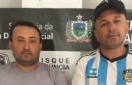 Dois homens são presos em Patos suspeitos de receptação de veículo roubado