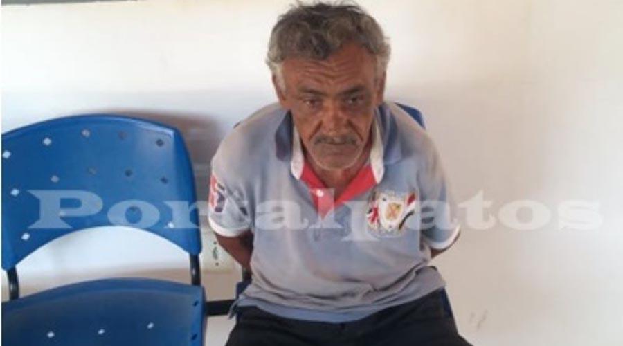 Vendedor ambulante de Patos é preso no Piauí acusado de estupro