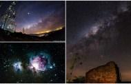 Três astrofotografias feitas em Matureia estão entre as finalistas de concurso nacional