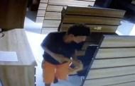 Câmeras flagram ladrões arrombando escritório de contabilidade em Patos e furtando objetos