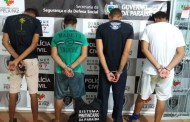 PC prende quatro pessoas por quebra de progressão de regime de pena em Patos