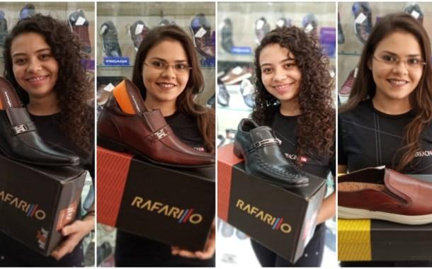 Muitas novidades em calçados masculinos e femininos na Paraíba Calçados, em Patos