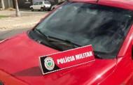 Homem rouba carro e 15 minutos depois é preso pela polícia, em Patos