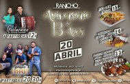 Churrascaria o Rancho sorteia brindes neste sábado para marcar seu aniversário