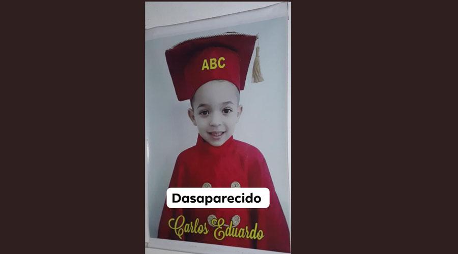 Família procura garoto desaparecido em Teixeira