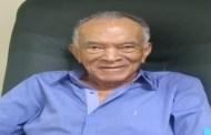 Morre o odontólogo Valdemar Jerônimo, muito conhecido em Patos