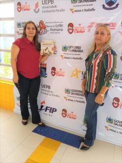 Joana Sabino, e a responsável pelo sistema de informação da rede BLHweb, Maria do Socorro Medeiros, (1)