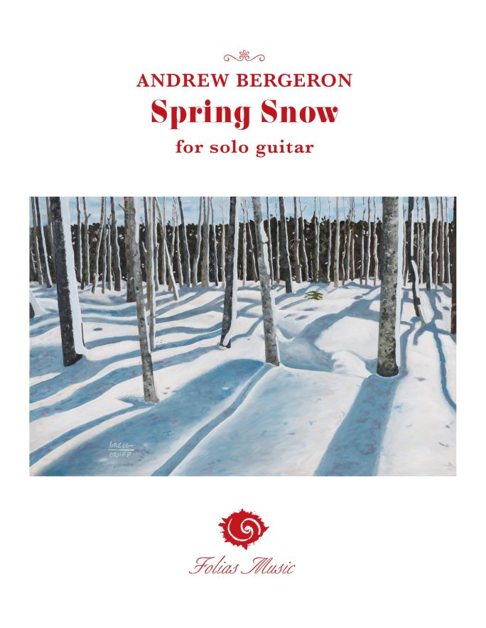 Spring Snow Cover 2021 - Andrew Bergeron