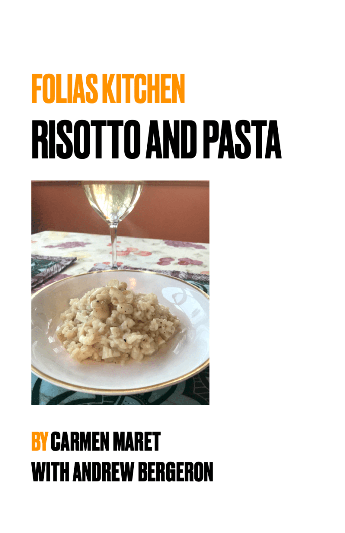 Folias Kitchen Risotto and Pasta