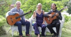 Folias Duo - Trio with Michael
