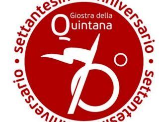 Lancia e dall'anello, il logo del settantennale della Quintana L'autore è l'architetto Carlo Crescimbeni dello studio Raumplandesign di Foligno