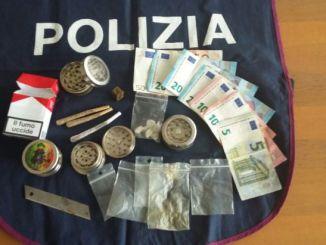 Spaccio di droga, controlli Polizia a Foligno
