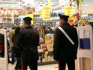 Tre ladri rubavano nei supermercati di Foligno, denunciati. Le refurtive, recuperate, sono state restituite ai proprietari