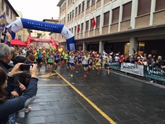 """""""Mezza maratona Città di Foligno"""", 700 gli iscritti in programma domenica 17 ottobre con un percorso per le vie cittadine"""
