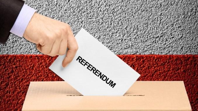 Referendum, quasi 43mila folignati chiamati alle urne nei 54 seggi