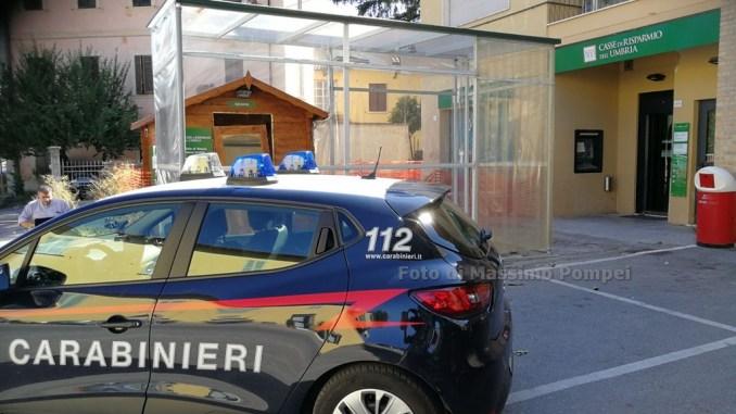 Assalto al bancomat di Vescia, banditi in fuga con bottino