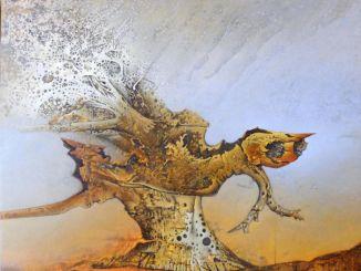 Montefalco, inaugurazione mostra dell'artista reatino Romeo Battisti